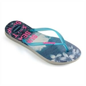 Havaianas Sun Sea Salt Surf Flip Flops Women 11/12
